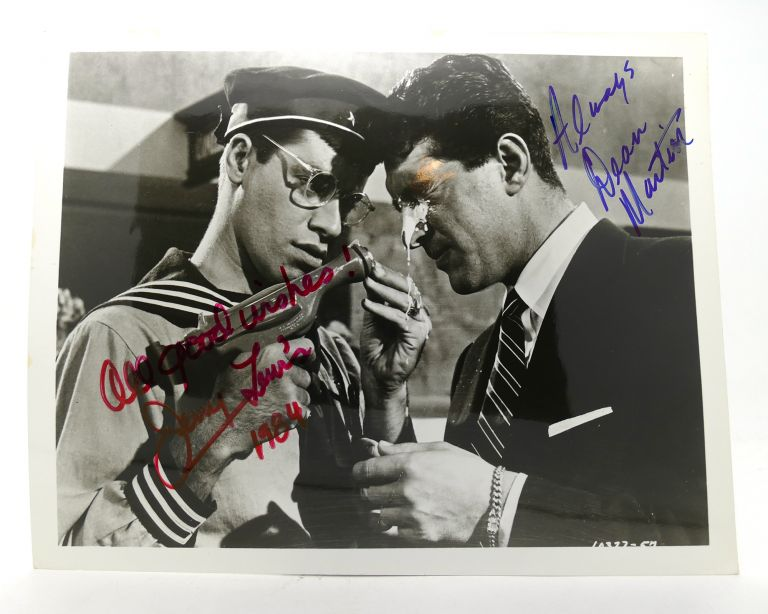 DEAN MARTIN/JERRY LEWIS SIGNED PHOTOGRAPH Autographed. Jerry Lewis Dean Martin.