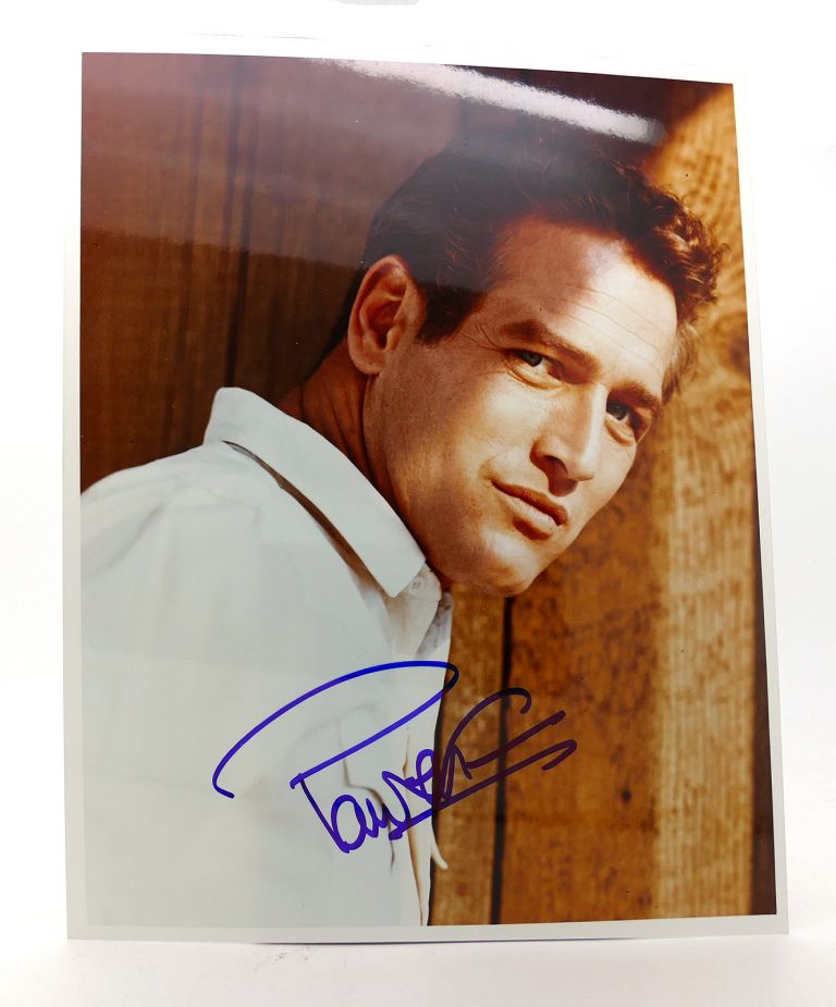 PAUL NEWMAN SIGNED PHOTO Autographed. Paul Newman.