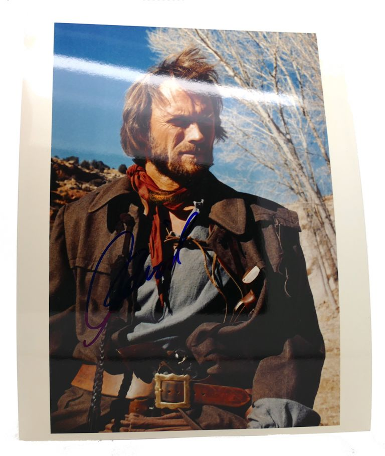 CLINT EASTWOOD SIGNED PHOTOGRAPH Autographed. Clint Eastwood.