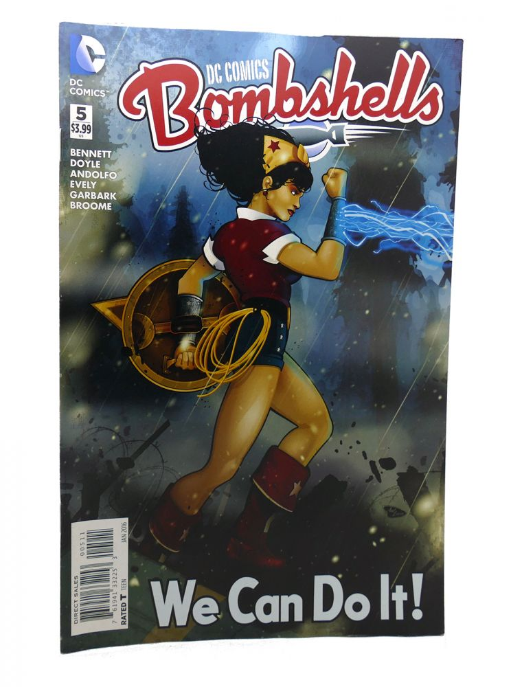 BOMBSHELLS VOL. 1 NO. 5 JAN 2016. Dc Comics.