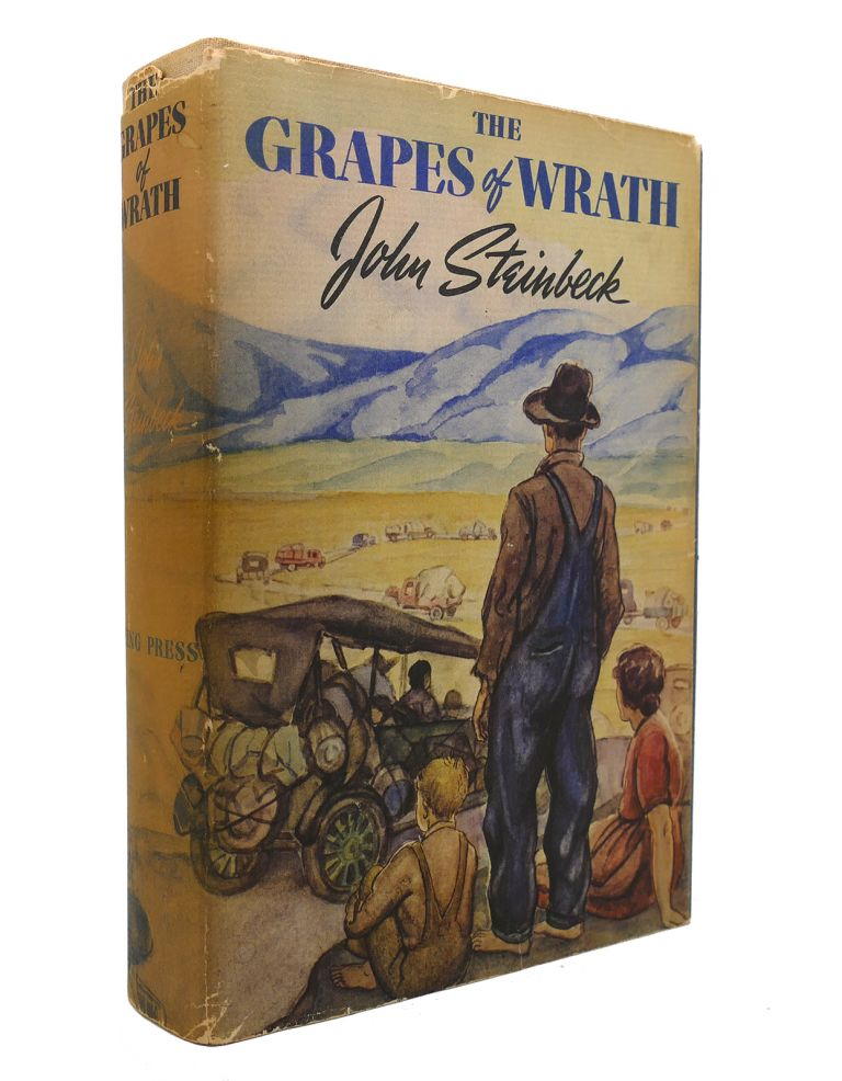 THE GRAPES OF WRATH Stated First Edition. John Steinbeck.
