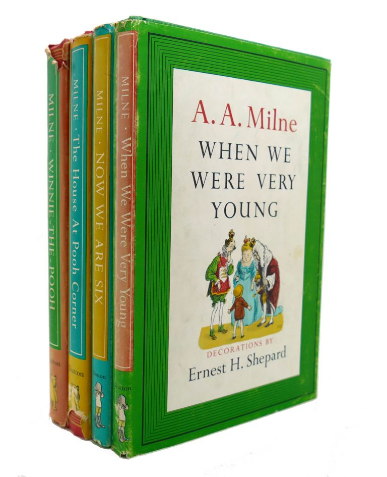 WINNIE-THE-POOH/THE HOUSE AT POOH CORNER/WHEN WE WERE VERY YOUNG/NOW WE ARE SIX. A. A. Milne.