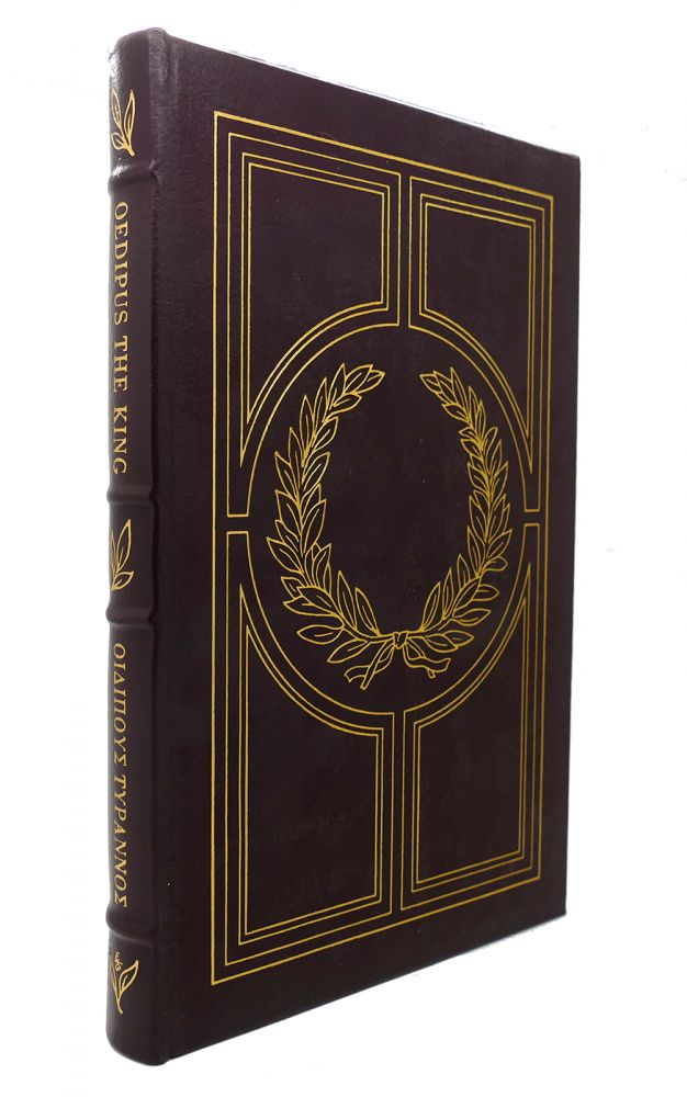 OEDIPUS THE KING Easton Press. Sophocles.