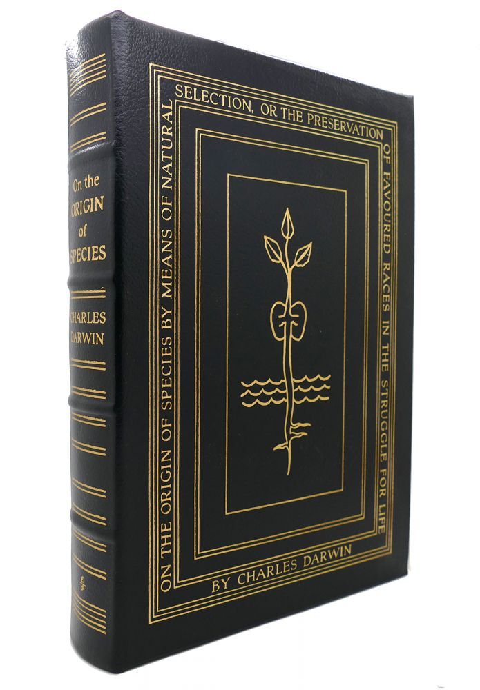 ON THE ORIGIN OF SPECIES Easton Press. Charles Darwin.