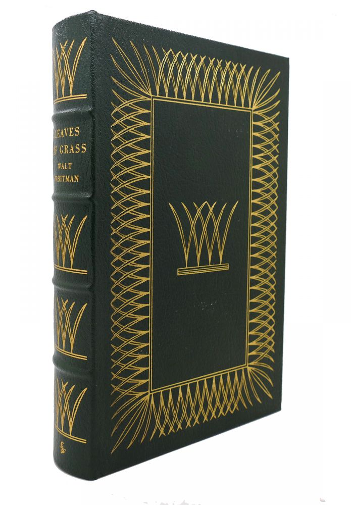 LEAVES OF GRASS Easton Press. Walt Whitman.