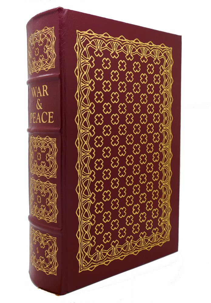 WAR AND PEACE Easton Press. Leo Tolstoy.