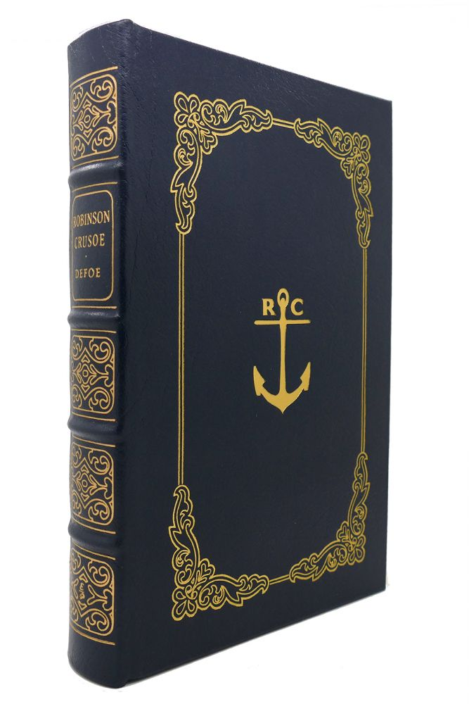 LIFE AND STRANGE SURPRISING ADVENTURES OF ROBINSON CRUSOE Easton Press. Daniel Defoe.