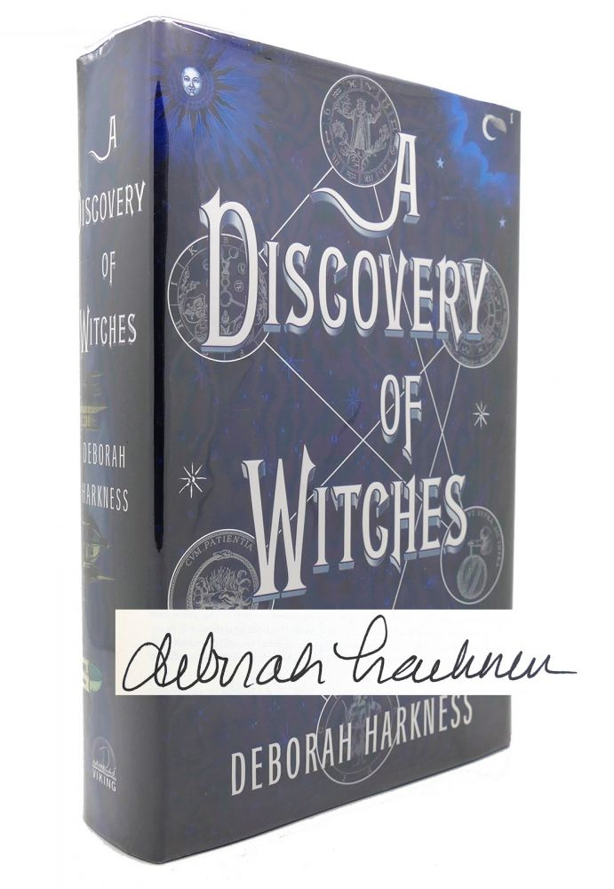 A DISCOVERY OF WITCHES A Novel. Deborah E. Harkness.