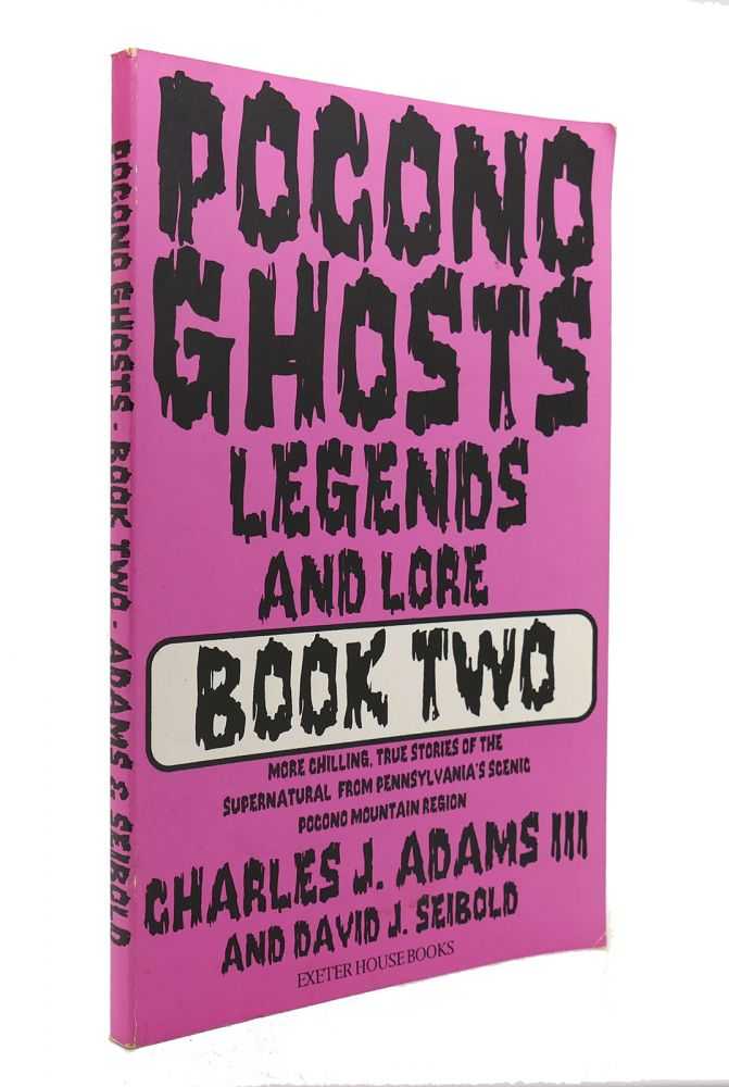POCONO GHOSTS Book 2. Charles J., Iii Adams, David J. Seibold.