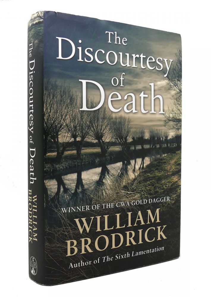 THE DISCOURTESY OF DEATH Father Anselm Novels. William Brodrick.