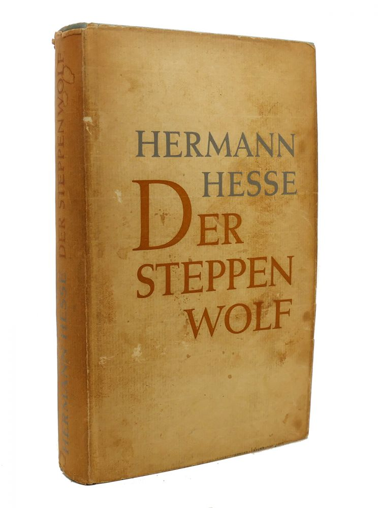 DER STEPPENWOLF. Hermann Hesse.