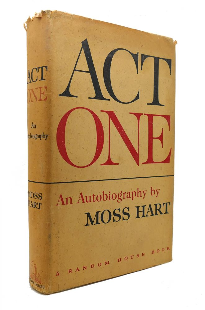 ACT ONE. Moss Hart.