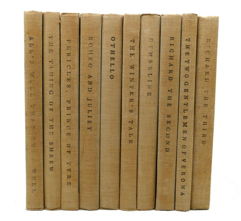 THE YALE SHAKESPEARE 40 Volumes. William Shakespeare.