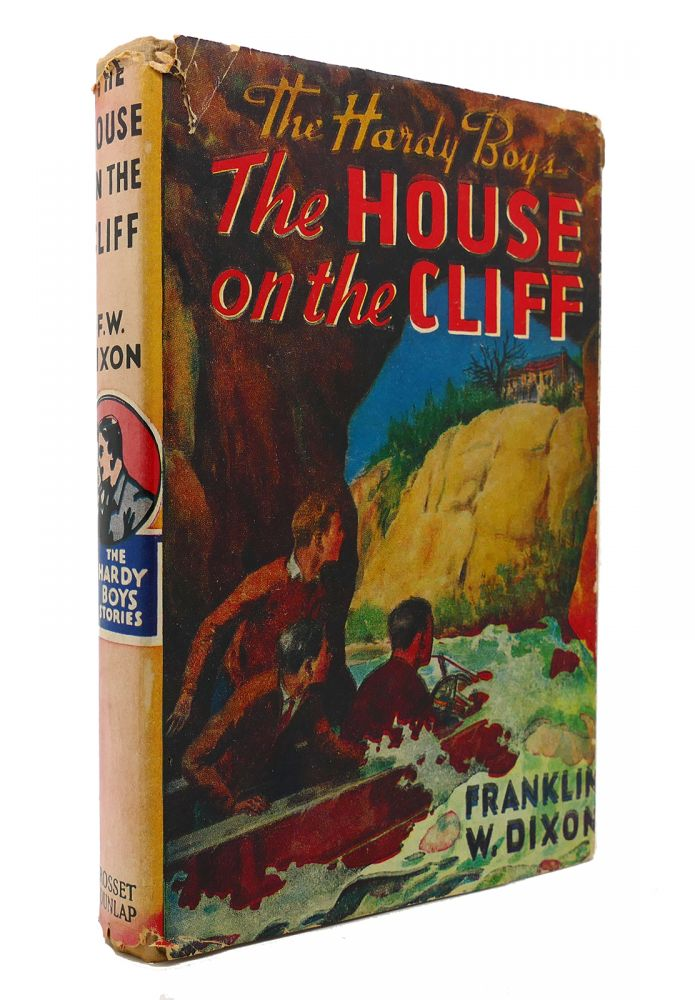 THE HARDY BOYS: THE HOUSE ON THE CLIFF. Franklin W. Dixon.