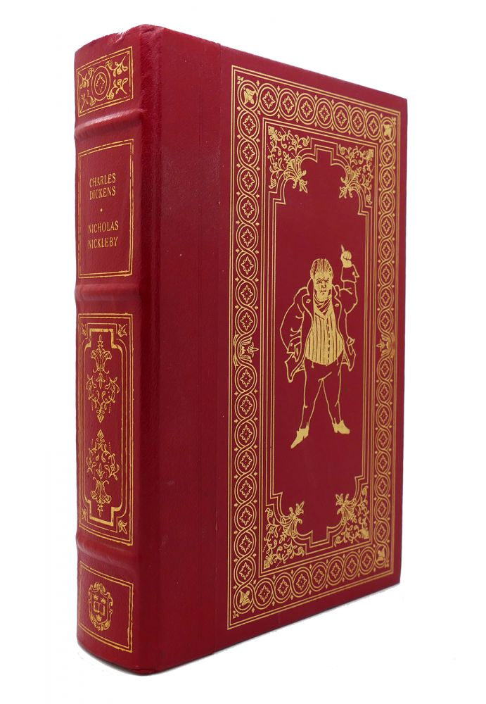 THE LIFE & ADVENTURES OF NICHOLAS NICKLEBY Franklin Library. Charles Dickens.