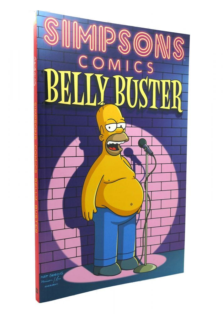SIMPSONS COMICS BELLY BUSTER. Matt Groening.