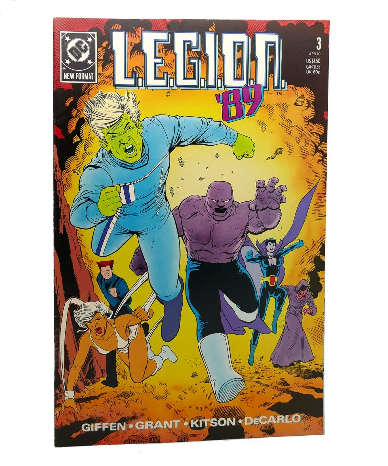L.E.G.I.O.N. VOL. 1 NO. 3 APRIL 1989. Dc Comics.