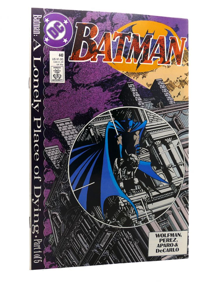 BATMAN VOL. 1 NO. 440 OCTOBER 1989. Dc Comics.