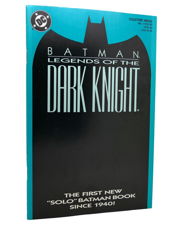 BATMAN LEGENDS OF THE DARK KNIGHT VOL. 1 NO. 1 NOVEMBER 1989 COLLECTOR'S SPECIAL COVER ART BLUE. Dc Comics.