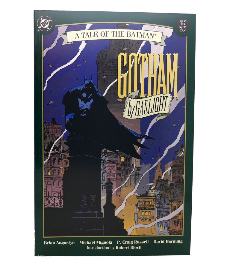 BATMAN: GOTHAM BY GASLIGHT FEBRUARY 1989. Dc Comics.