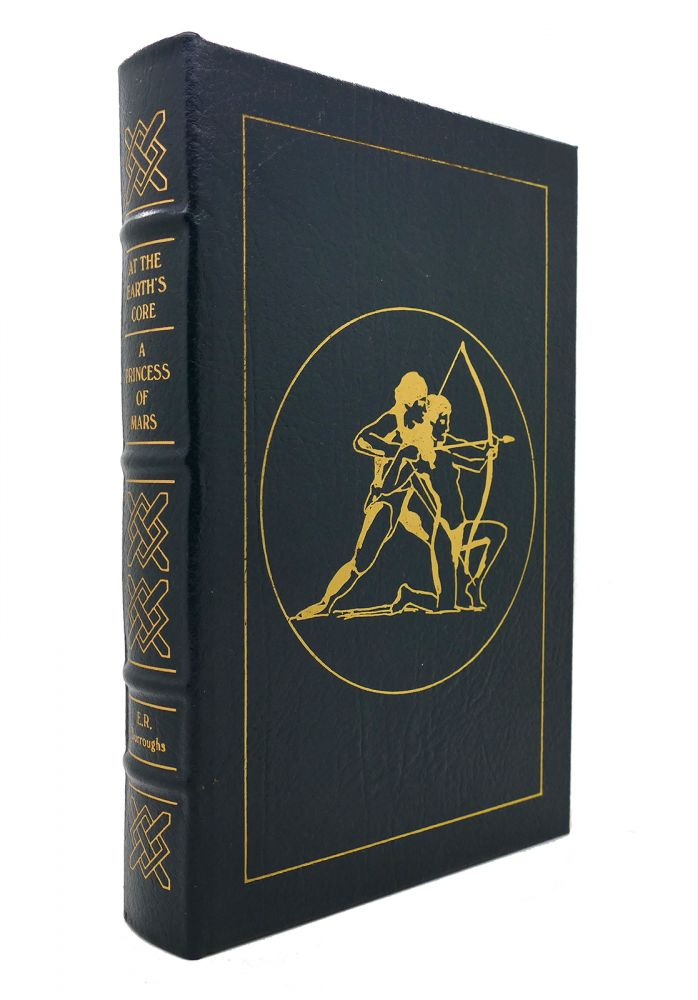 AT THE EARTH'S CORE AND A PRINCESS OF MARS Easton Press. Edgar Rice Burroughs.