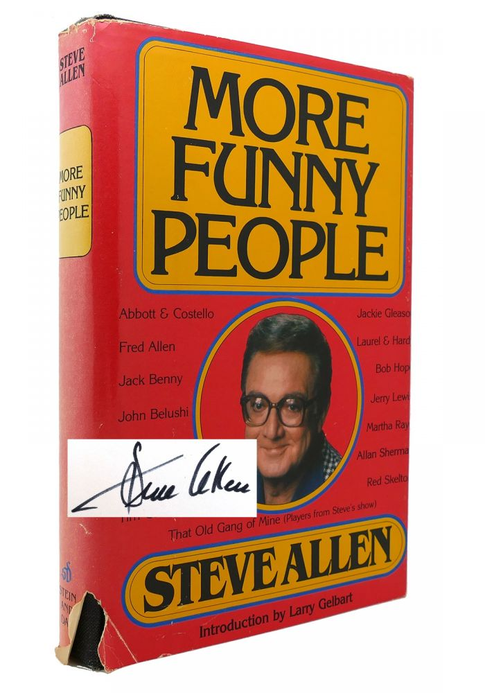 MORE FUNNY PEOPLE Signed 1st. Steve Allen.