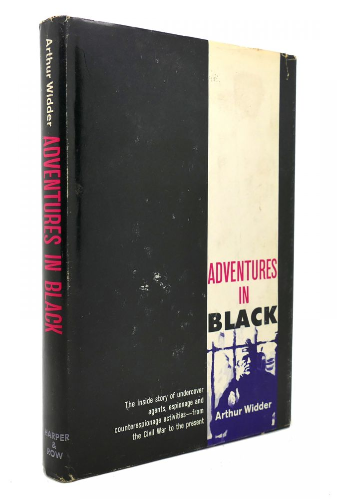 ADVENTURES IN BLACK. Arthur Widder.