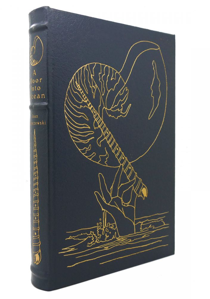 A DOOR INTO THE OCEAN Easton Press. Joan Slonczewski.