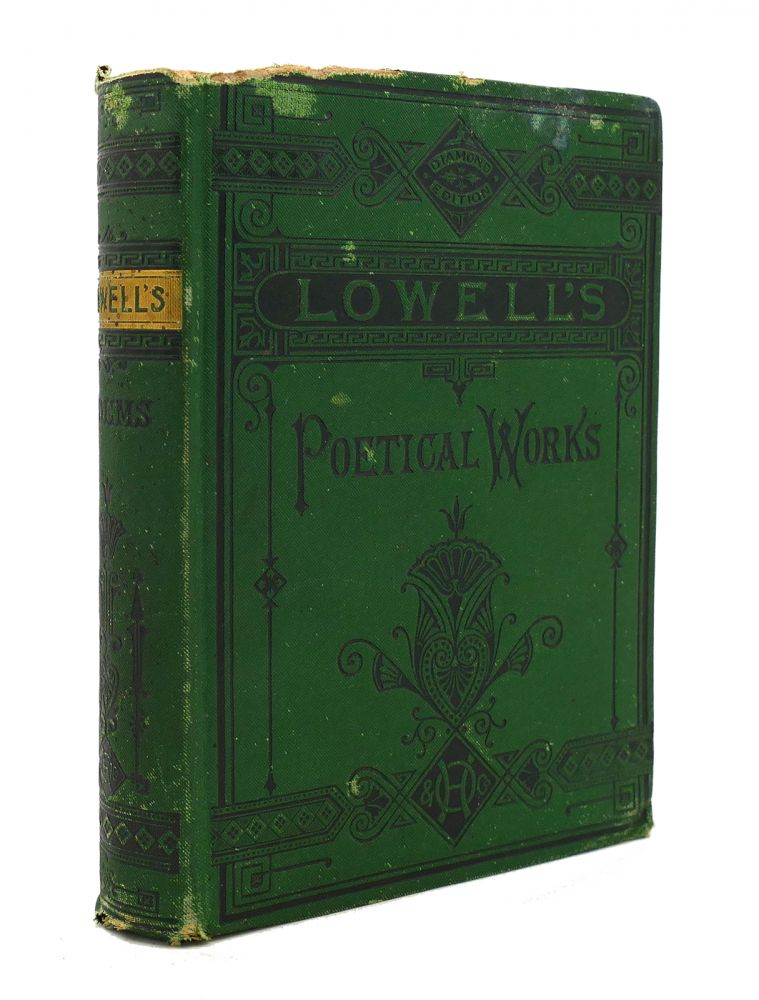 THE POETICAL WORKS OF JAMES RUSSELL LOWELL. James Russell Lowell.