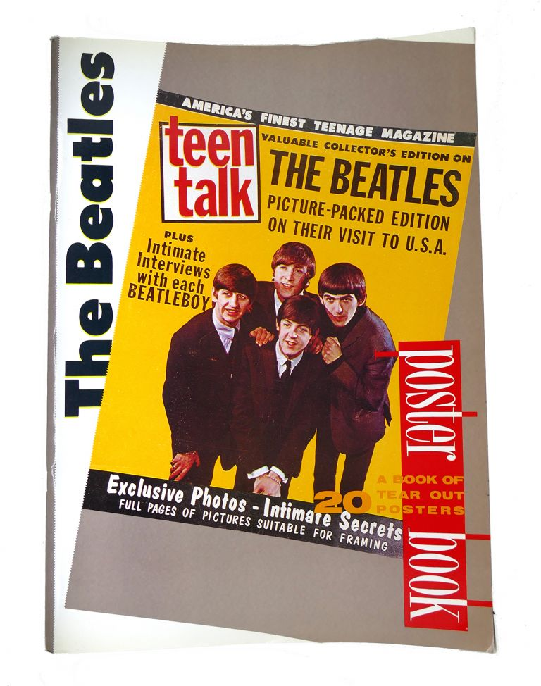 THE BEATLES POSTER BOOK. Kay Rowley John Lennon Paul McCartney.