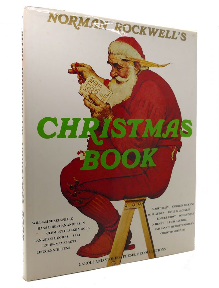NORMAN ROCKWELL'S CHRISTMAS BOOK. Norman Rockwell, Molly.