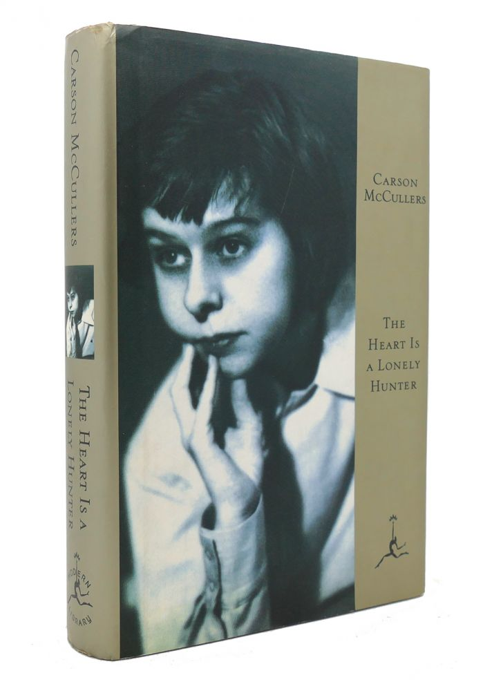 THE HEART IS A LONELY HUNTER Modern Library 100 Best Novels. Carson McCullers.