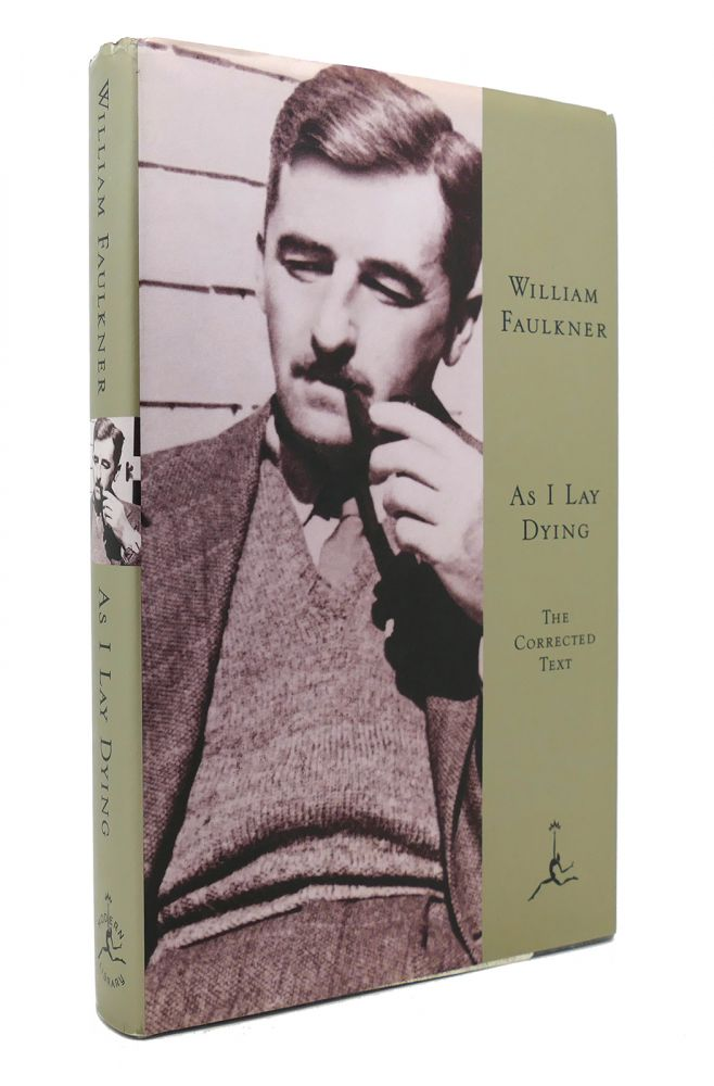 AS I LAY DYING Modern Library 100 Best Novels. William Faulkner.