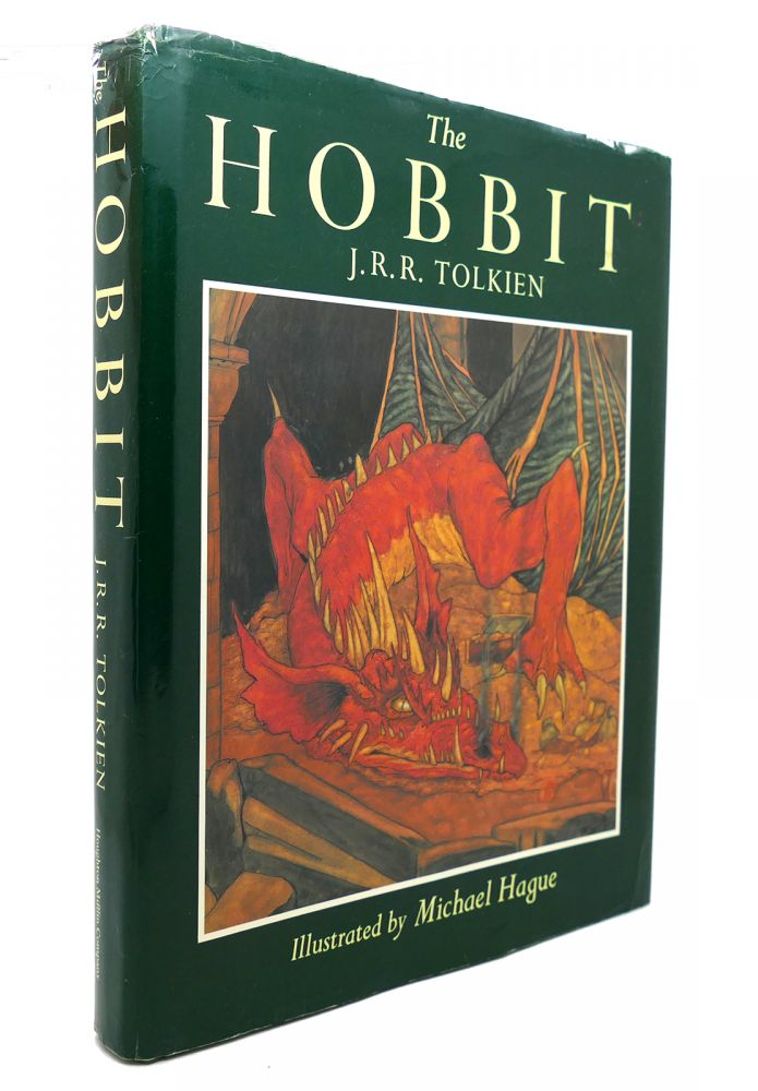 THE HOBBIT, OR, THERE AND BACK AGAIN. J. R. R. Tolkien.