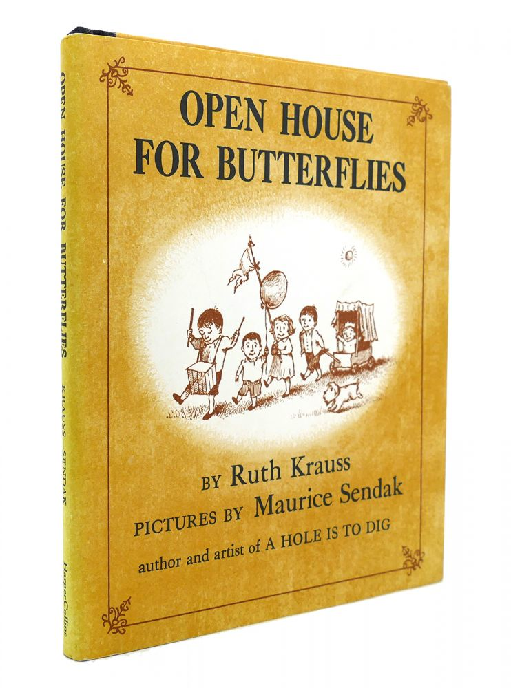 OPEN HOUSE FOR BUTTERFLIES. Maurice Sendak Ruth Krauss.