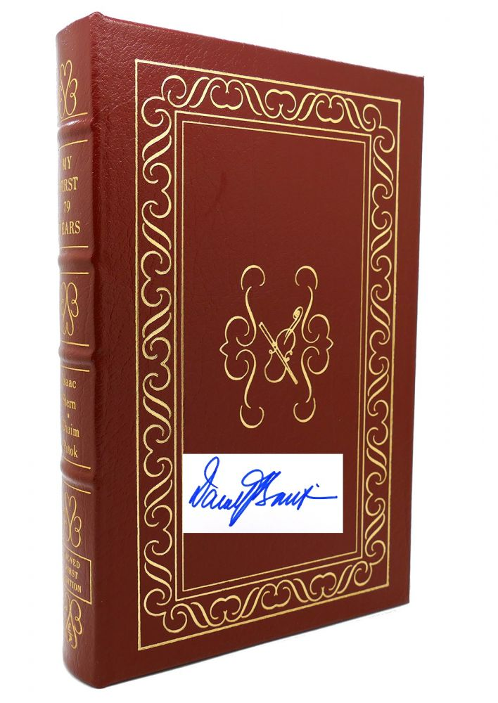 MY FIRST 79 YEARS Signed Easton Press. Isaac Stern.