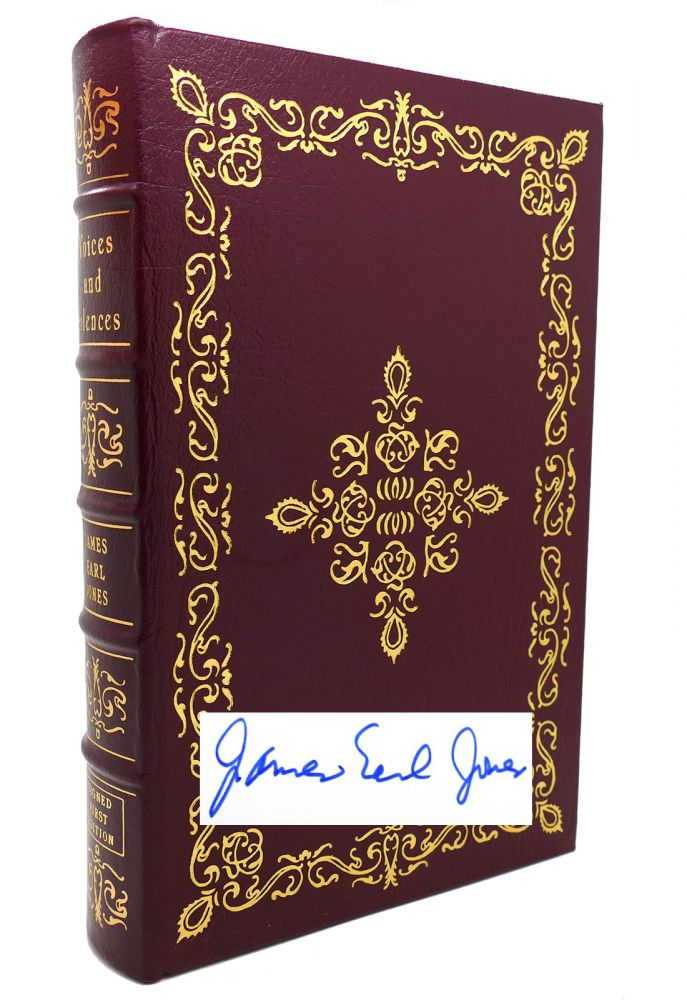 VOICES AND SILENCES Signed Easton Press. James Earl Jones.