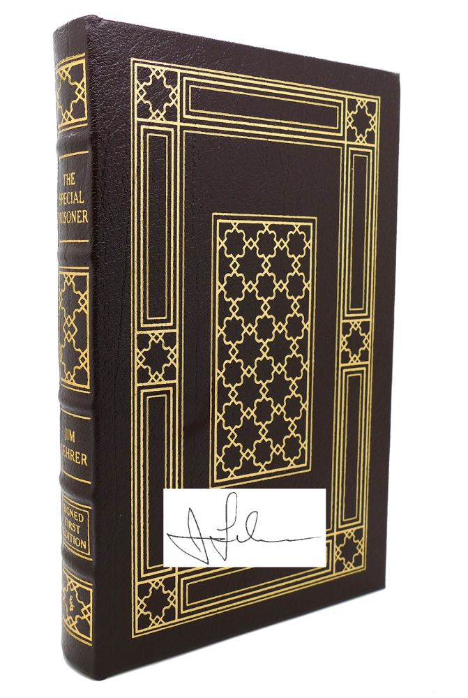 THE SPECIAL PRISONER Signed Easton Press. Jim Lehrer.