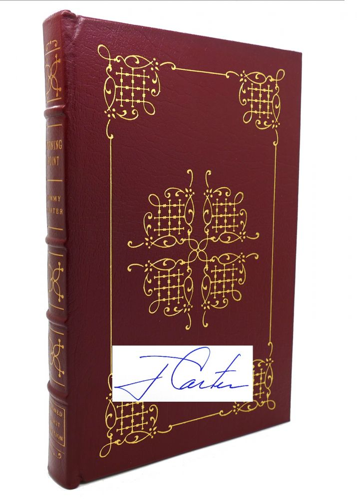 TURNING POINT Signed Easton Press. Jimmy Carter.