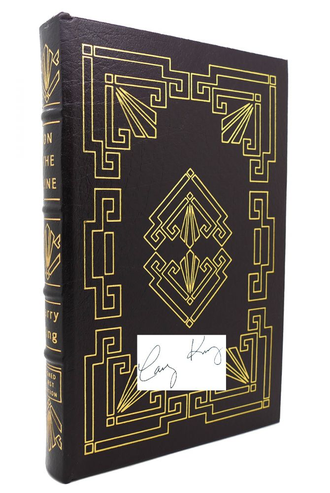 ON THE LINE Signed Easton Press. Larry King.