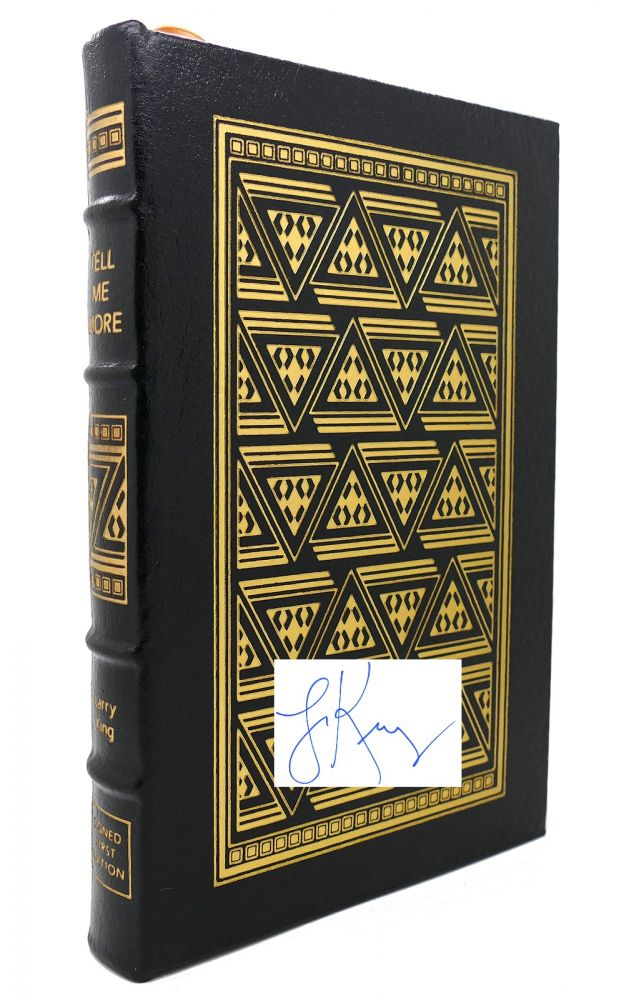 TELL ME MORE Signed Easton Press. Larry King.
