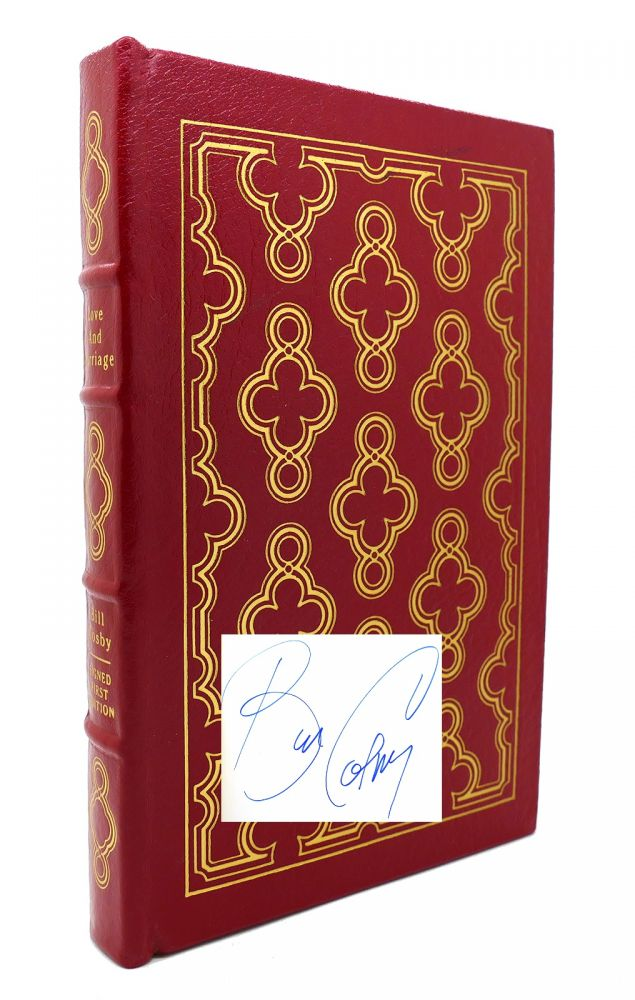 LOVE AND MARRIAGE Signed Easton Press. Bill Cosby.