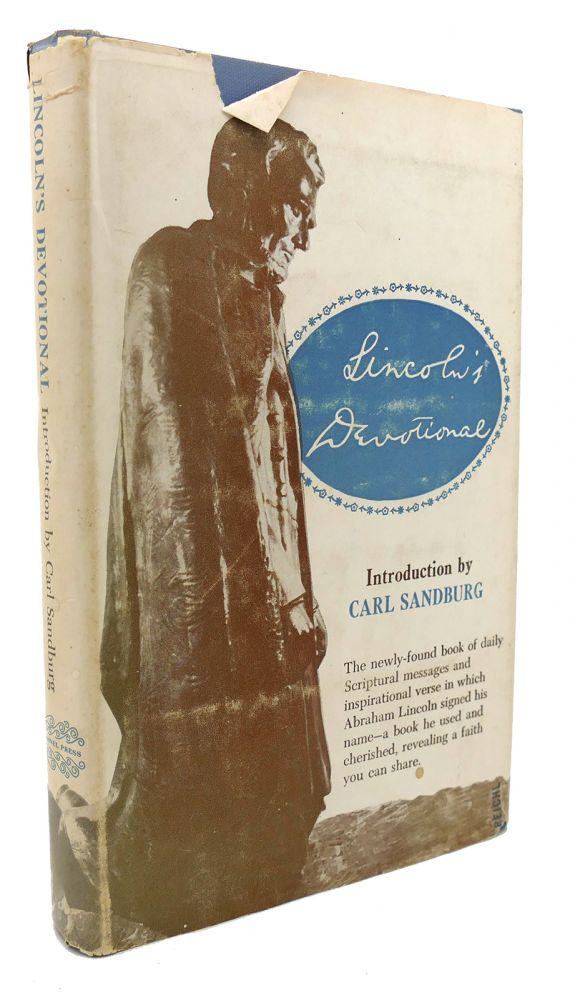LINCOLN'S DEVOTIONAL Introduction by Carl Sandburg. Abraham Lincoln.