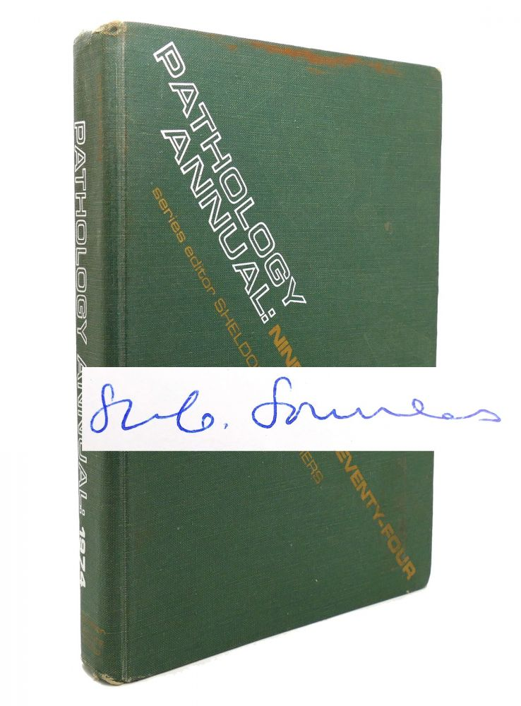 PATHOLOGY ANNUAL, VOLUME 9, 1974 Signed 1st. Sheldon C. Sommers.