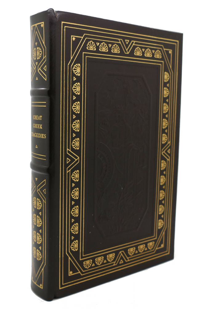 GREAT GREEK TRAGEDIES Franklin Library Oxford Library of the World's Greatest Books. Aeschylus Sophocles, Euripides.