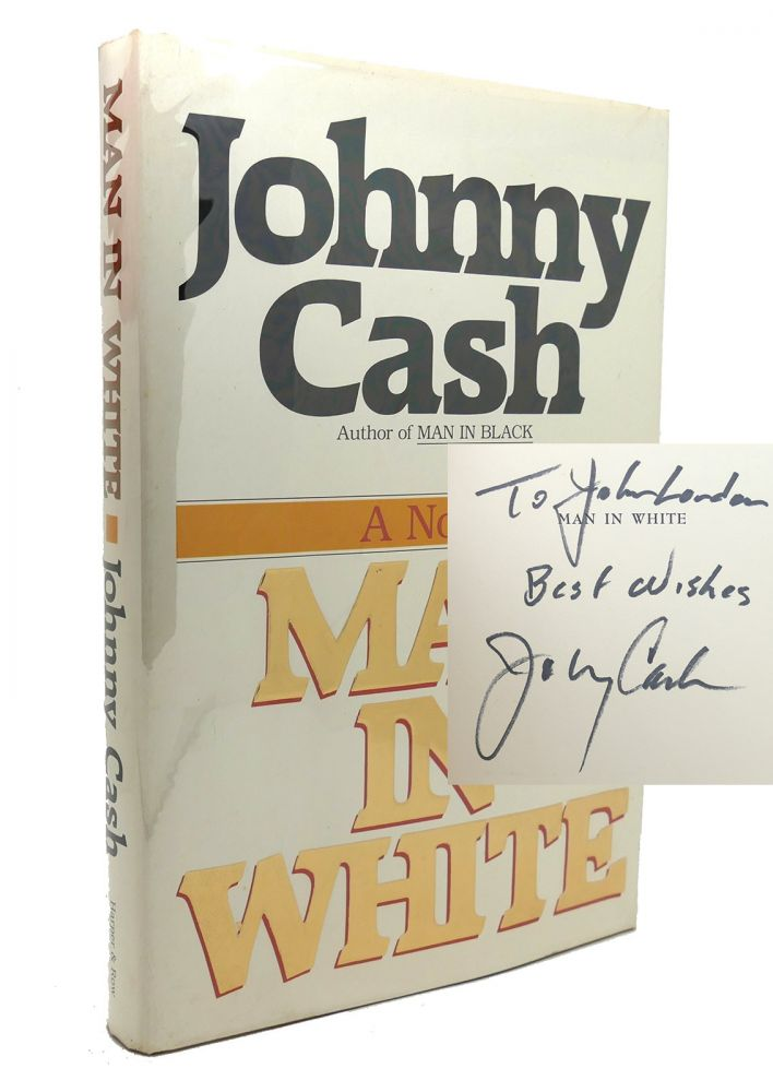 MAN IN WHITE Signed 1st. Johnny Cash.