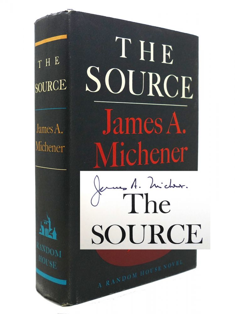 THE SOURCE Signed. James A. Michener.