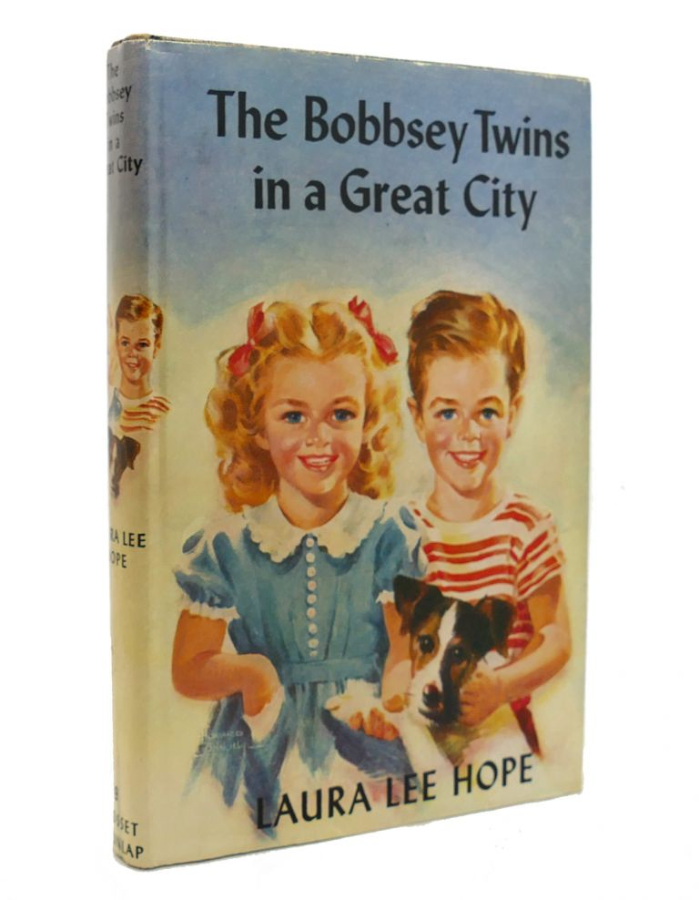 THE BOBBSEY TWINS IN A GREAT CITY. Laura Lee Hope.