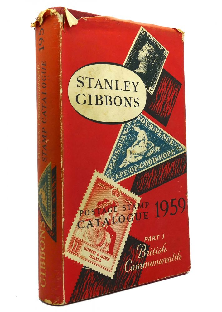 PRICED POSTAGE STAMP CATALOGUE 1959 PART ONE British Commonwealth of Nations. Stanley Gibbons.