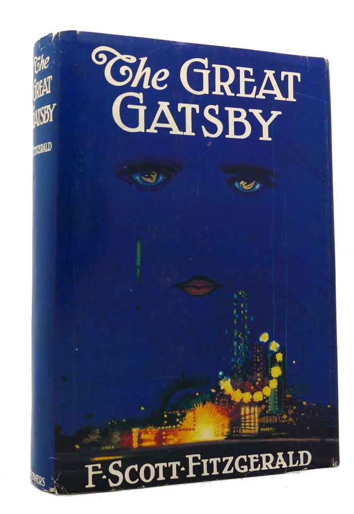 THE GREAT GATSBY 1st Edition 1st Issue. F. Scott Fitzgerald.
